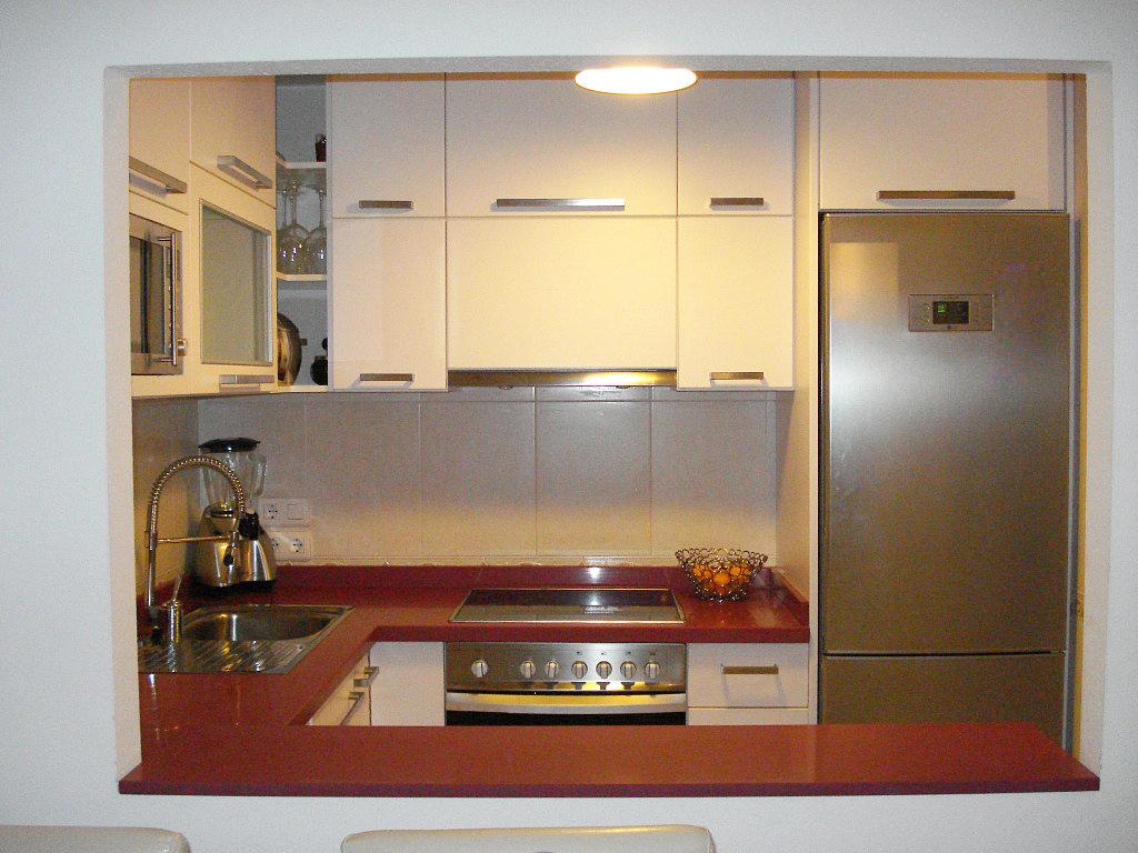 Cocina ja constructores for Cocinas paralelas