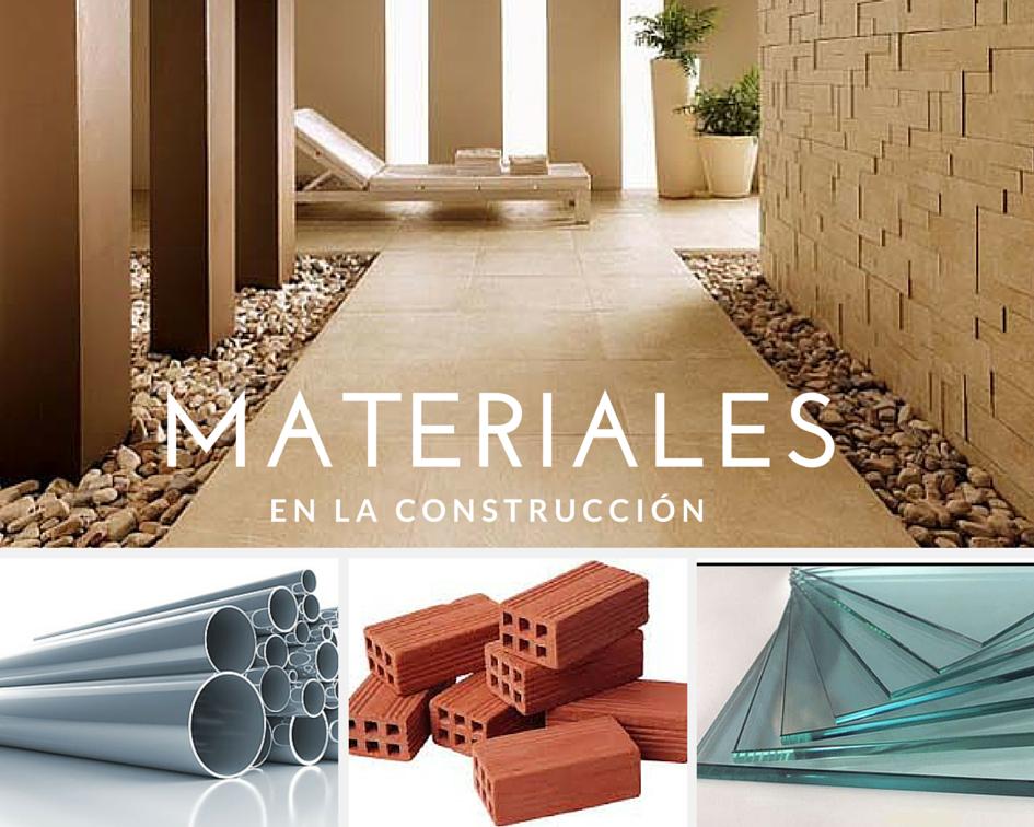Cualidades a buscar en los materiales de construcci n ja - Cano materiales de construccion ...