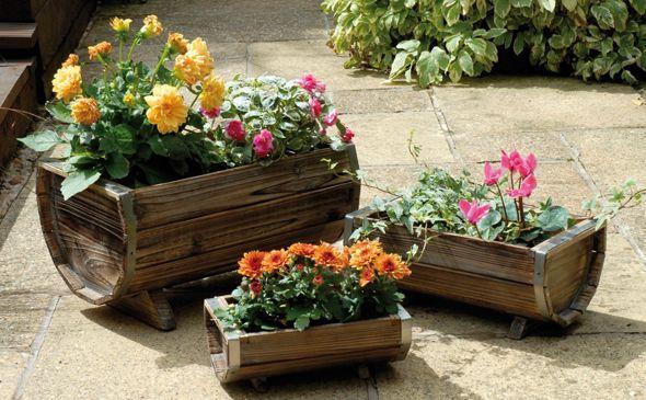 Jardin ja constructores for Macetas para jardin