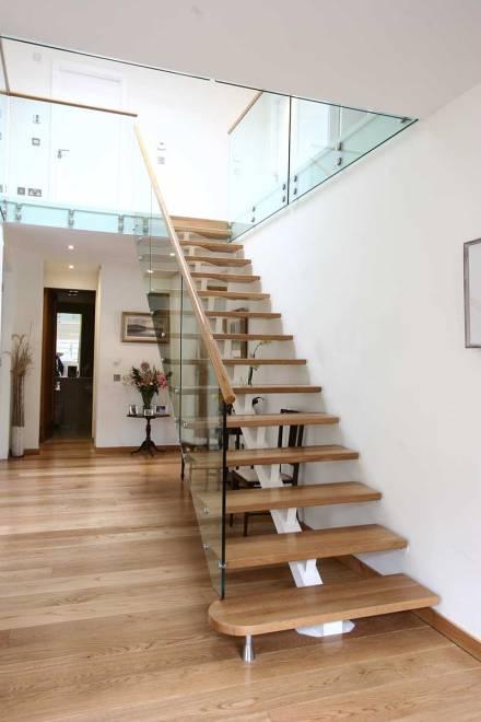 Dise o de escaleras ja constructores for Escaleras en u