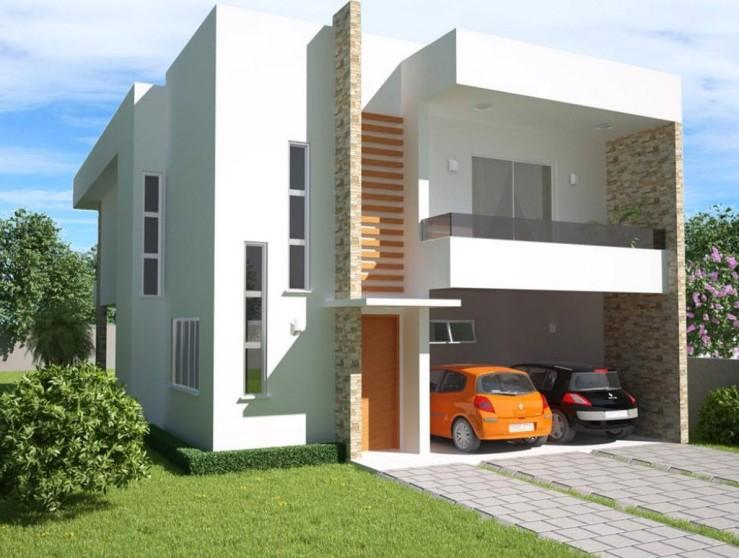 Fachada-de-casa-moderna-construye hogar