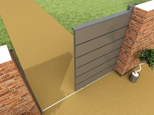 Portones en fachada suman a la belleza y seguridad ja for Saguan de madera
