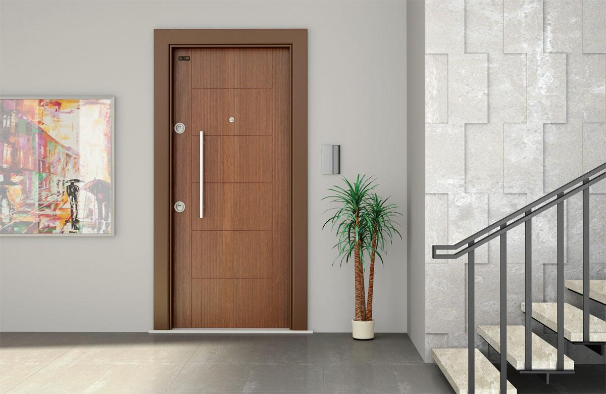 Puertas dise o para tu vivienda ja constructores for Decoracion de la puerta de entrada