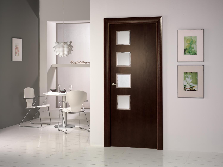 Puertas dise o para tu vivienda ja constructores for Puertas modernas interior precios