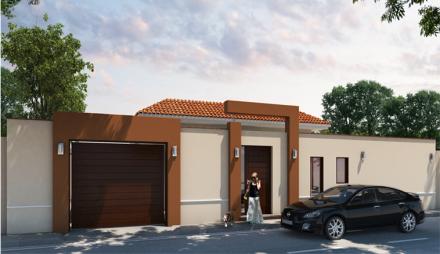 Construccion casa ja constructores for Color de pintura al aire libre casa moderna
