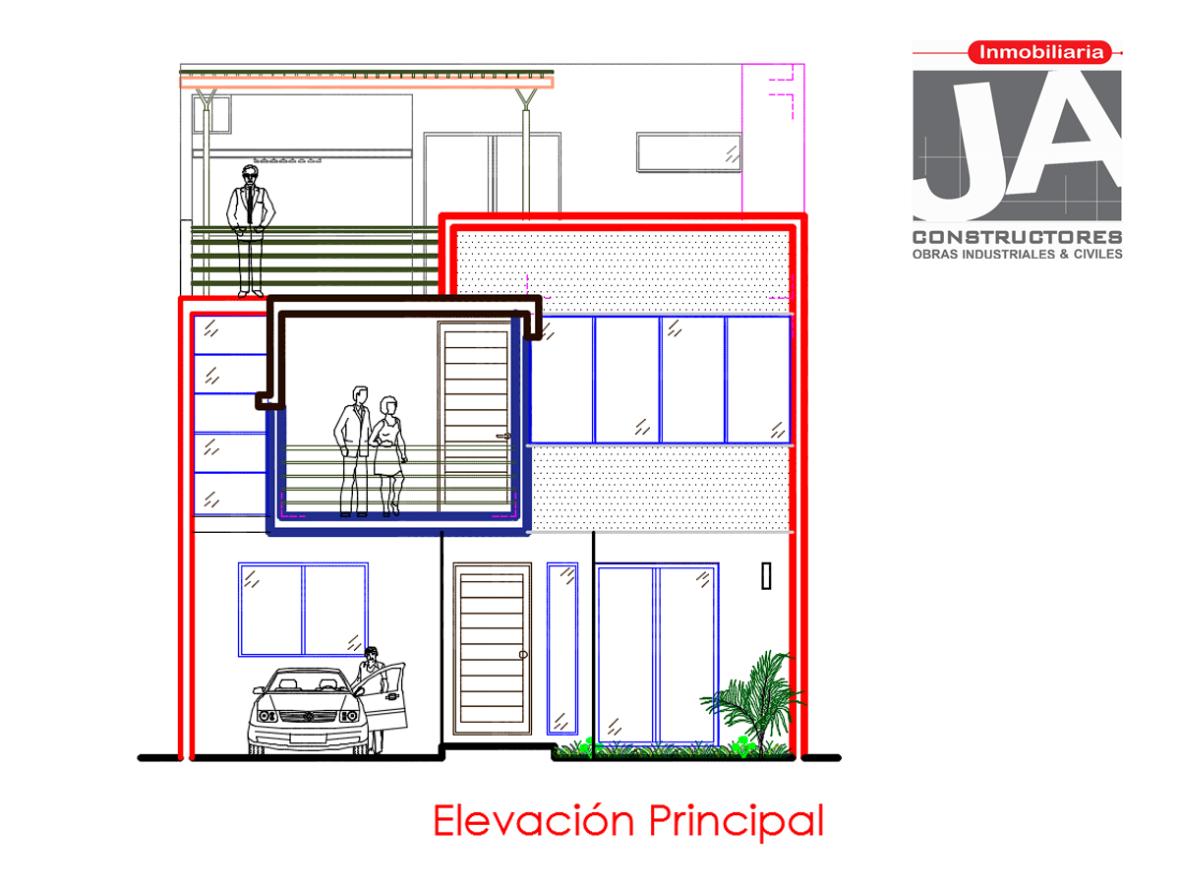 plano ja constructores_casa tres pisos