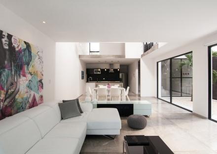 Verano casas ja constructores for Casa minimalistas