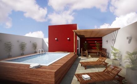 Quieres una piscina en tu terraza alta ja constructores for Terrazas 2do piso