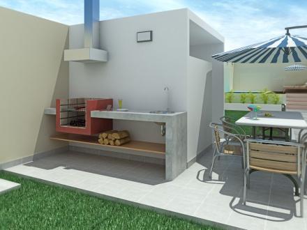 Zona de parrilla en casa disfruta tu terraza ja for Parrilla para dentro de la casa