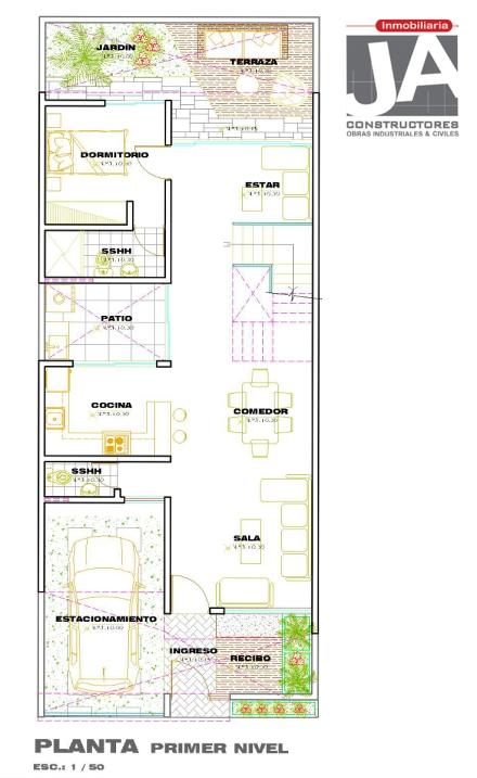 Planos de vivienda   JA Constructores