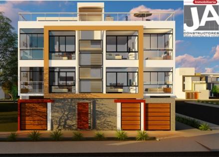 Planos de vivienda ja constructores for Departamentos minimalistas fachadas