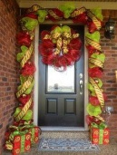 puertas-decoración-navideña